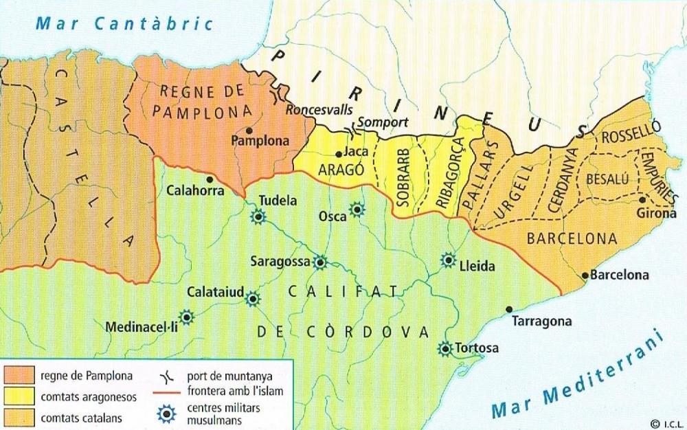 estats-cristians siglo XI